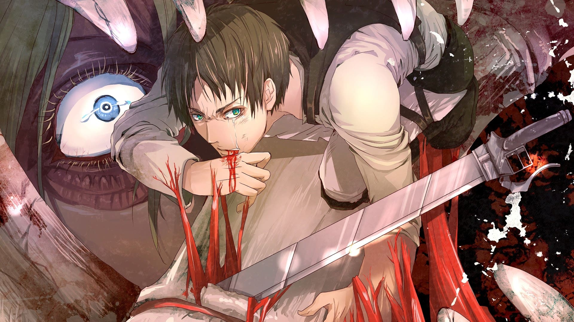 Attack On Titan Wallpapers Desktop Iphone Android Mobile